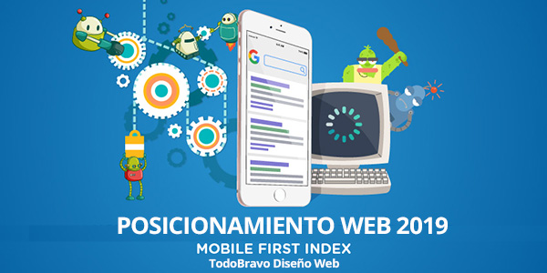 Posicionamiento web SEO 2019 Mobile First