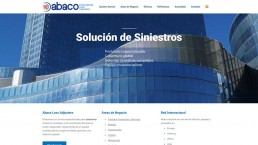 página web corporativa mundial de abaco loss adjusters